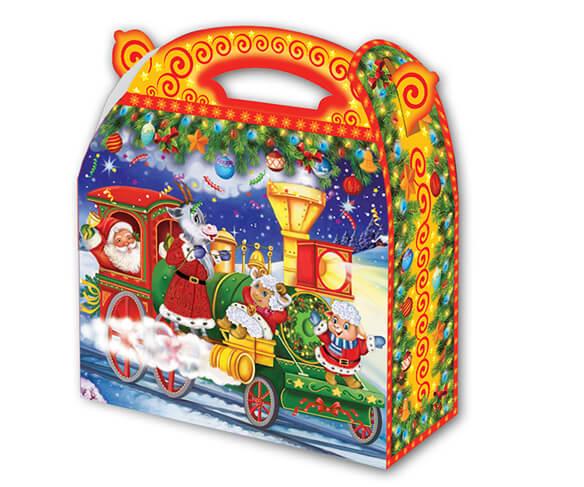 Поезд Деда Мороза 1000 гр