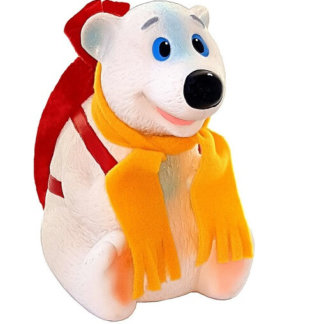 Медвежонок с рюкзаком (Пластизоль) 800 гр (1 шт)