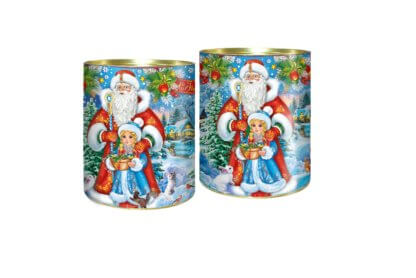 Туба Дед Мороз и внучка 600 гр