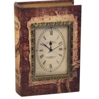 Книга-шкатулка с часами 600 гр