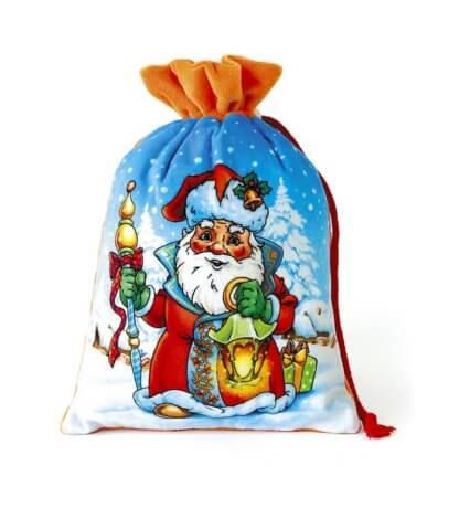 Мешок Дед Мороз 1000 гр