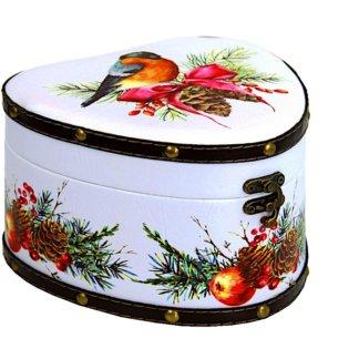 Шкатулка Визит (дерево-кожа) 900 гр
