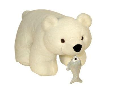 Упаковка медведь с рыбкой 600 гр