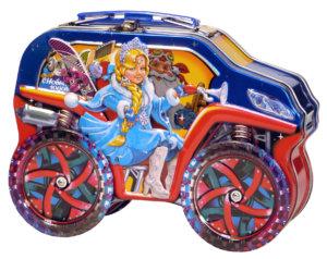 Джип с вращающимися колесами 400 гр